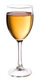 άσπρο κρασί γυαλιού Στοκ εικόνες με δικαίωμα ελεύθερης χρήσης