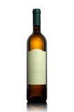 άσπρο κρασί ετικετών μπου&k Στοκ φωτογραφίες με δικαίωμα ελεύθερης χρήσης