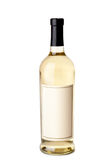 άσπρο κρασί μπουκαλιών Στοκ Φωτογραφίες