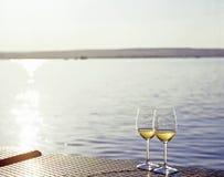 άσπρο κρασί Στοκ εικόνα με δικαίωμα ελεύθερης χρήσης