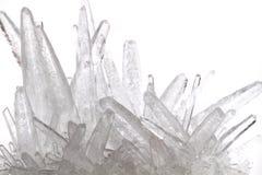 άσπρο κρύσταλλο φωσφορικού άλατος Στοκ φωτογραφία με δικαίωμα ελεύθερης χρήσης