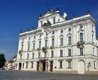 Άσπρο κτήριο πετρών Στοκ εικόνες με δικαίωμα ελεύθερης χρήσης