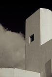 Άσπρο κτήριο Στοκ εικόνες με δικαίωμα ελεύθερης χρήσης