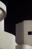 Άσπρο κτήριο Στοκ Φωτογραφίες