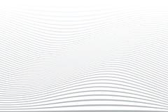 Άσπρο κυματιστό υπόβαθρο γραμμών Αφηρημένη ριγωτή σύσταση ελεύθερη απεικόνιση δικαιώματος