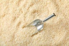 Άσπρο μακρύ κοκκιώδες ρύζι Στοκ φωτογραφία με δικαίωμα ελεύθερης χρήσης