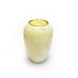 Άσπρο μαρμάρινο βάζο Στοκ εικόνες με δικαίωμα ελεύθερης χρήσης