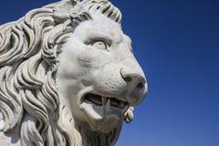 Μαρμάρινο λιοντάρι Στοκ φωτογραφία με δικαίωμα ελεύθερης χρήσης