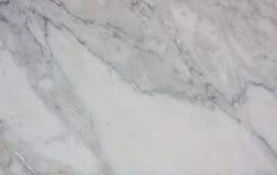 Άσπρο μαρμάρινο υπόβαθρο σύστασης Στοκ Φωτογραφίες