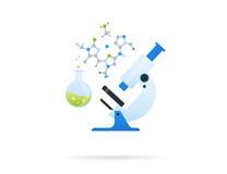 Άσπρο μικροσκόπιο απεικόνιση αποθεμάτων