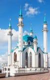 Άσπρο μουσουλμανικό τέμενος Στοκ φωτογραφίες με δικαίωμα ελεύθερης χρήσης