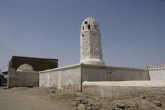 Άσπρο μουσουλμανικό τέμενος Στοκ Εικόνες