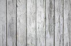 Άσπρο ξύλινο κατασκευασμένο υπόβαθρο με woodgrain τη λεπτομέρεια στοκ φωτογραφίες με δικαίωμα ελεύθερης χρήσης