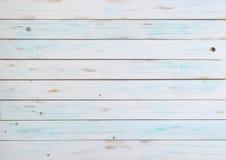 Άσπρο ξύλινο σκηνικό Στοκ εικόνα με δικαίωμα ελεύθερης χρήσης
