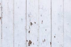 Άσπρο ξύλινο υπόβαθρο σύστασης στο Shabby κομψό ύφος Στοκ εικόνα με δικαίωμα ελεύθερης χρήσης