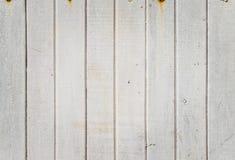 Άσπρο ξύλινο υπόβαθρο Στοκ Φωτογραφία