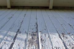 Άσπρο ξύλο σιταποθηκών Στοκ εικόνα με δικαίωμα ελεύθερης χρήσης