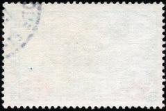 Άσπρο οριζόντιο γραμματόσημο Στοκ εικόνα με δικαίωμα ελεύθερης χρήσης