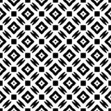 Άσπρο πίσω έδαφος dezine Semless μαύρο Τρίγωνα, περίληψη Στοκ Φωτογραφίες