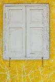άσπρο παράθυρο στοκ φωτογραφία