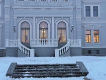 Άσπρο παλάτι, Λιθουανία στοκ εικόνες με δικαίωμα ελεύθερης χρήσης