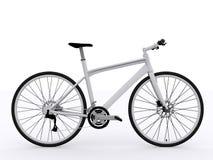 Άσπρο ποδήλατο Στοκ εικόνες με δικαίωμα ελεύθερης χρήσης