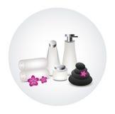 Άσπρο προϊόν μπουκαλιών Στοκ Φωτογραφία