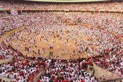 Άσπρο πλήθος στοκ φωτογραφίες