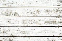 Άσπρο πλυμένο ξύλο Στοκ Εικόνες
