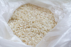 Άσπρο ρύζι στη συσκευασία στοκ φωτογραφίες με δικαίωμα ελεύθερης χρήσης