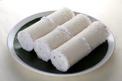 Άσπρο ρύζι Puttu Στοκ φωτογραφία με δικαίωμα ελεύθερης χρήσης