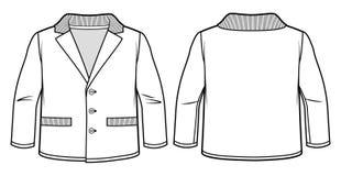 Άσπρο σακάκι αγοριών ` Στοκ εικόνα με δικαίωμα ελεύθερης χρήσης