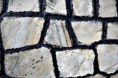 Άσπρο σχέδιο πετρών Στοκ Εικόνα