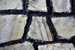 Άσπρο σχέδιο πετρών Στοκ εικόνα με δικαίωμα ελεύθερης χρήσης