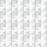 Άσπρο σχέδιο σχεδίων τετραγώνων Στοκ φωτογραφίες με δικαίωμα ελεύθερης χρήσης