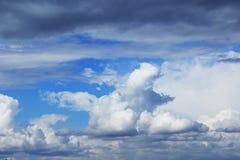 Άσπρο σύννεφο όπως το Μπόρνεο Στοκ εικόνες με δικαίωμα ελεύθερης χρήσης