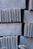 άσπρο τούβλο κατασκευής Στοκ εικόνες με δικαίωμα ελεύθερης χρήσης