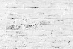 Άσπρο τούβλο grunge στοκ φωτογραφία