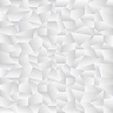 Άσπρο τσαλακωμένο σχέδιο Στοκ Εικόνα