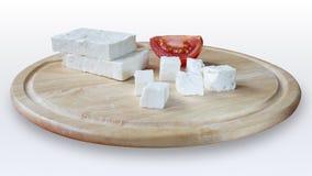 Άσπρο τυρί αγελάδων Στοκ φωτογραφία με δικαίωμα ελεύθερης χρήσης