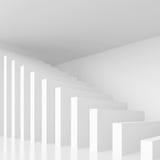 Άσπρο υπόβαθρο αρχιτεκτονικής απεικόνιση αποθεμάτων