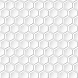 Άσπρο υπόβαθρο - γεωμετρική άνευ ραφής σύσταση Στοκ Φωτογραφία