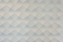 Άσπρο υπόβαθρο γύψου τριγώνων Στοκ εικόνες με δικαίωμα ελεύθερης χρήσης