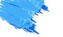 Άσπρο υπόβαθρο και μπλε χρώμα Στοκ φωτογραφία με δικαίωμα ελεύθερης χρήσης