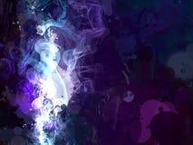 Άσπρο υπόβαθρο κτυπημάτων βουρτσών καπνού Αμερικανός διακοσμεί διανυσματική έκδοση συμβόλων σχεδίου την πατριωτική καθορισμένη Στοκ φωτογραφία με δικαίωμα ελεύθερης χρήσης