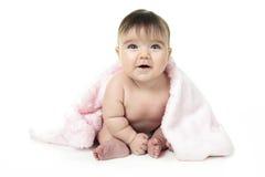 Άσπρο υπόβαθρο μωρών στοκ εικόνες