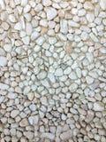 Άσπρο υπόβαθρο πετρών Στοκ Εικόνες