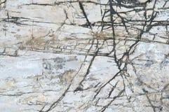 Άσπρο υπόβαθρο πετρών Στοκ Εικόνα