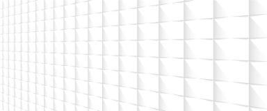 Άσπρο υπόβαθρο προοπτικής Στοκ Εικόνες