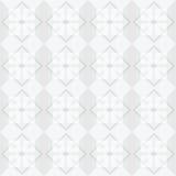 Άσπρο υπόβαθρο σχεδίων τετραγώνων Στοκ Φωτογραφία
